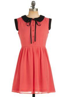 London Collar-ing Dress, #ModCloth