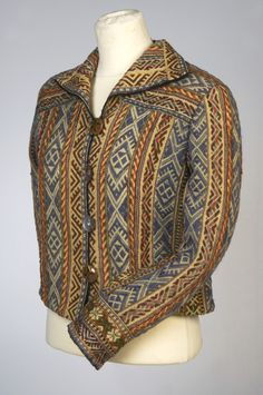 What a thing! Estonian woven jacket