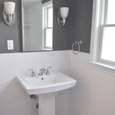 Classic Bathroom! Love!