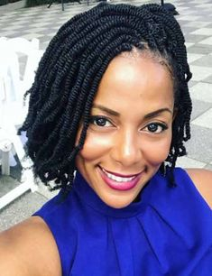 20 Irresistible Ways To Style Your Kinky Twists Twist Braid Hairstyles, Crochet Braids Hairstyles, Braided Hairstyles For Black Women, African Braids Hairstyles, Braids For Black Hair, Twist Braids, Dreadlock Hairstyles, Black Hairstyles, Afro Twist