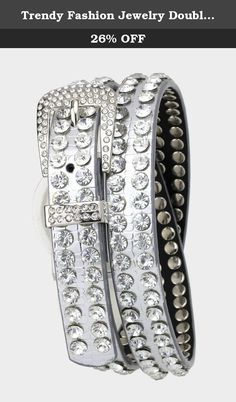 Trendy Fashion Jewelry Double Row Crystals Belt By Fashion Destination | (Silver). Fashion Destination Presents : Double Row Crystals Belt. Buy brand-name Fashion Jewelry for everyday discount prices with Fashion Destination! Everyday LOW shipping *. Read product reviews on Fashion Necklaces, Fashion Bracelets, Fashion Earrings & more. Shop the Fashion Destination store for a wide selection of rings, bracelets, necklaces, earrings and diamond jewelry. Whether you are searching for men's...