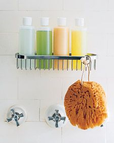 Golden Rules of Bathroom Organizing - Martha Stewart Home & Garden