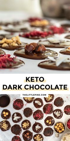 This creamy, sweet and incredibly delicious low carb dark chocolate is the sugar free and keto treat you've been craving! #lowcarbdarkchocolate #ketodarkchocolate #darkchocolate #ketochocolate #lowcarbchocolate #keto #lowcarb Keto Chocolate Recipe, Dark Chocolate Recipes, Low Carb Chocolate, Sugar Free Desserts, Sugar Free Recipes, Low Carb Desserts, Atkins Recipes, Low Carb Recipes, Diet Recipes