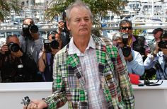 Actor Bill Murray poses during a photo call for 'Moonrise Kingdom' at the 65th international film festival in Cannes