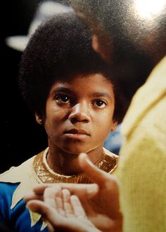 Young MJ taking instruction