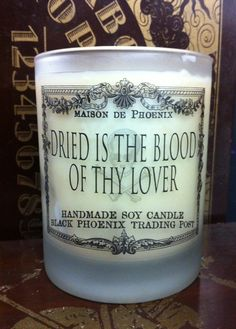 Dried is the Blood of Thy Lover - Our Lady of Pain Limited Edition Candle