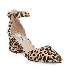 Steve Madden Women's Dainna-l Leopard Dress Closed 6.5 US-$69.98