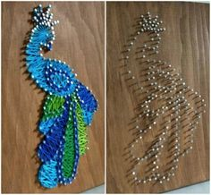 You looked for: string art patterns! Etsy is the house to thousands of handmade, vintage, as well as one-of-a-kind products and presents related to your search. Crafts To Do, Diy Craft Projects, Hobbies And Crafts, Arts And Crafts, Craft Ideas, String Wall Art, Nail String Art, Nail Art, String Art Templates
