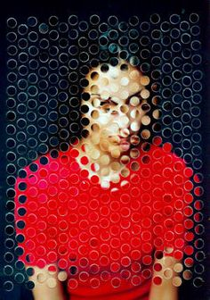 Jean Faucheur - Photographie 2000 love the watermarks that give the impression of grids Collage Foto, Art Du Collage, Inspiration Art, Art Inspo, Photomontage, Fotografie Hacks, Illustrator, Photo D Art, Experimental Photography