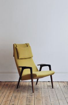 1960'S YNGVE EKSTRÖM ARMCHAIR. great shape