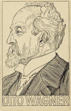 Wiener-Werkstätte_Postkarte Nr. 251, Otto Wagner, 1911, Lithographie ©Wien Museum