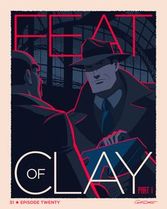 "caltsoudas:  Batman The Animated Series episode 20 ""Feat of Clay: Part 1""   YES! Excellent one, great moment in the episode to highlight. Feat Of Clay, pt. 1"