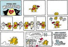 Heathcliff  comic strip for Feb/14/2014