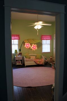 so cute little girls room