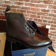 Trickers - Steeple Boot I want a pair. Fashion Shoes, Fashion Accessories, Mens Fashion, Men's Shoes, Dress Shoes, Shoes Men, Men's Wardrobe, Wardrobe Ideas, Dapper Dan