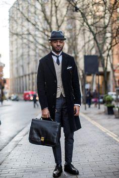 Found: London's Most Dapper Gents #refinery29