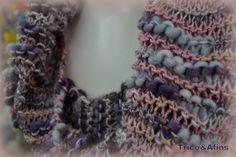 Sou adepta das novidades. Todo ano fico doidinha para experimentar os fios novos. Uma grande surpresa da coleção Cisne 2012 foi esse fio...