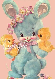vintage bunny ...looks like Bunny Blue