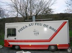 CAMION PIZZA magasin BEATEN J9 1986