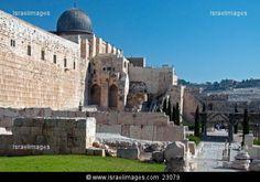Ancient Jerusalem Ruins | Ancient ruins at the Jerusalem Archaeological Park, Temple Mount ...