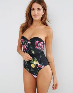 Image 1 ofTed Baker Camilaa Swimsuit