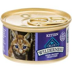 Blue Buffalo Wilderness Grain-Free Canned Kitten Food, 3 oz. -- Find out more about the great product at the image link. (This is an affiliate link and I receive a commission for the sales)