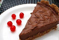 Torta Mousse de Chocolate (vegan)