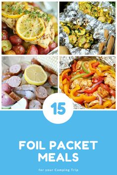 Foil Packet Meals ar