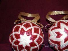 falošný patchwork vianočné gule - Hľadať Googlom