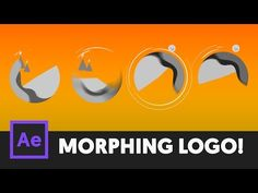 (53) T064 Morphing Landscape Logo Tutorial - After Effects CC (Night to Day) - YouTube