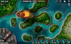 IBOMBER DEFENCE PACIFIC | Developer: Cobra Mobile | Genre: Strategy/Tower Defense | Mode: Single Player | KISS Release: Out Now