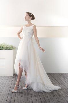 Cielo Blu 2013 - Tiffany One Shoulder Wedding Dress, Tiffany, September, Wedding Ideas, Weddings, Wedding Dresses, Fashion, Sky, Bride Dresses