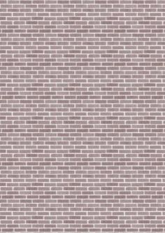 Babahazba Paper Doll House Houses Brick Wall Background