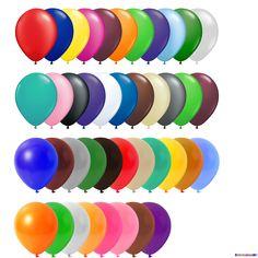Luftballons Freie Farbauswahl Ø 30 cm