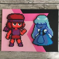 Steven Universe perler beads by  hollohandcrafted