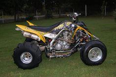 Off Road Graphics - Yamaha Raptor 700!! Reaper!!