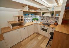 Corner Desk, Sweet Home, Kitchen Cabinets, Loft, House Design, Architecture, Table, Furniture, Homework