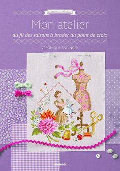 Mon Jardin sur la Toile: Véronique Enginger - Mon atelier au fil des saison...