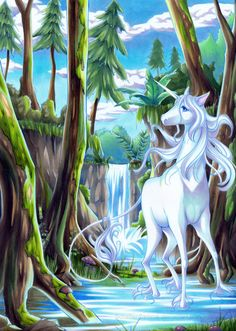 The Last Unicorn by Stories of Griffins and Unicorns