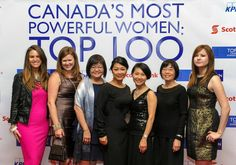 Our Kathy strikes a pose with some of her favourite ladies at the Women's Executive Network Most Powerful Women ceremony. #MadeInCanada