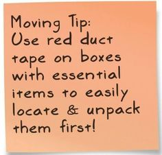 Or Hellokitty duct tape...lol.   Great idea for packing & moving