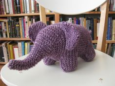 garter stitch eliphant