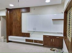 Lcd Unit Design, Lcd Wall Design, Modern Tv Unit Designs, Modern Tv Wall Units, Living Room Tv Unit Designs, Modern Tv Cabinet, Tv Unit Furniture Design, Tv Unit Interior Design, Tv Unit Decor