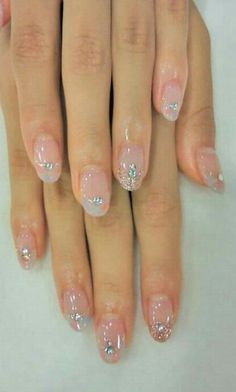 Fancy Nails, Cute Nails, Pretty Nails, Glittery Nails, Accent Nails, Fabulous Nails, Gorgeous Nails, Nail Art Designs, Nail Accessories