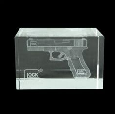 Glock Hologram Glass PaperweightSave those thumbs & bucks w/ free shipping on this magloader I purchased mine http://www.amazon.com/shops/raeind  No more leaving the last round out because it is too hard to get in. And you will load them faster and easier, to maximize your shooting enjoyment.  loader does it all easily, painlessly, and perfectly reliably