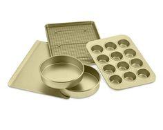 Williams-Sonoma Goldtouch® Nonstick 6-Piece Essentials Bakeware Set