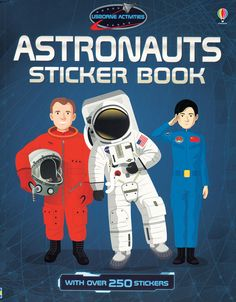 Astronauts Sticker Book IR  Check it out at www.coastalbooknook.com