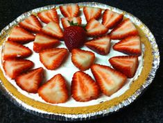 Skinny Strawberry Cheesecake from Eat Yourself Skinny.  Seems super easy to make, definitely going to try!