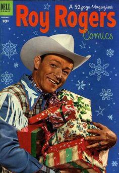Roy Rogers Christmas comic, 1952