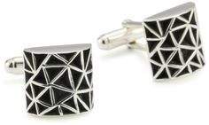 Zina Sterling Silver Men's 'Cosmos' Cuff Link Silver Zina Sterling Silver. $175.00. Made in the United States. Wipe with silver polishing cloth from time to time to restore finish Silver Man, Cosmos, Cufflinks, Mens Fashion, Sterling Silver, Man Jewelry, Gifts, Restore, Accessories